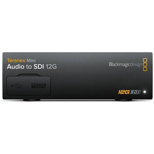 Blackmagic Teranex Mini Audio To Sdi 12g Core Media Indonesia