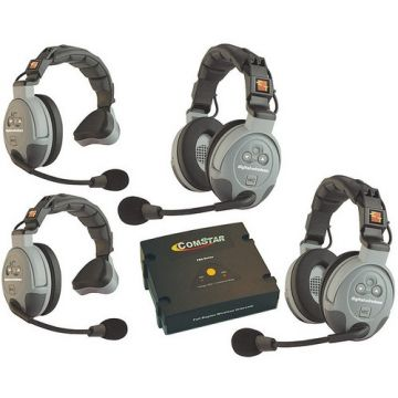 Eartec COMSTAR XT-4 4-User Full Duplex