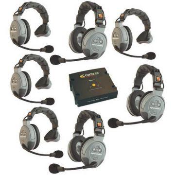 Eartec COMSTAR XT-7 7-User Full Duplex System