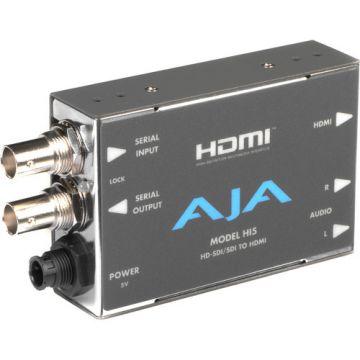 AJA Hi5 HD-SDI/SDI to HDMI Video and Audio Converter-Front