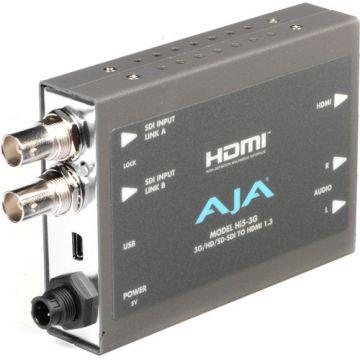 AJA 3G/Dual Link/HD/SD-SDI to HDMI Mini-Converter-Main