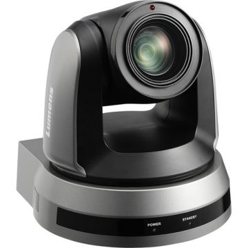 Lumens 4K UHD 12x Optical Zoom PTZ Camera (Black)
