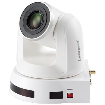 Lumens 4K UHD 12x Optical Zoom PTZ Camera (White)