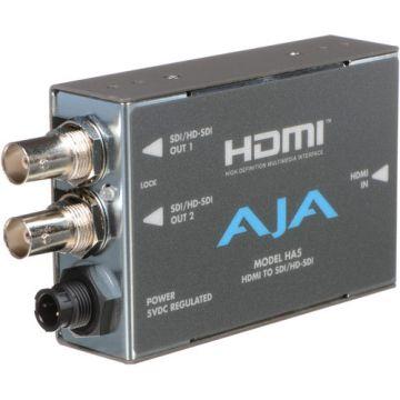 AJA HA5 HDMI to SD/HD-SDI Video and Audio Converter-Front