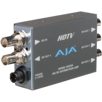 AJA HD5DA HD-SDI/SDI Serial Digital Distribution Amplifier-Main