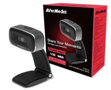 AVerMedia HD Webcam 310 - PW310 Full HD 1080p30
