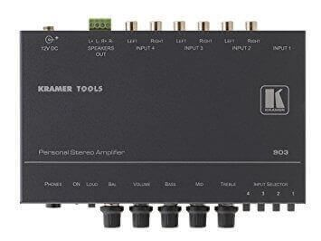 Kramer 4x1 Personal Stereo Amplifier & Switcher