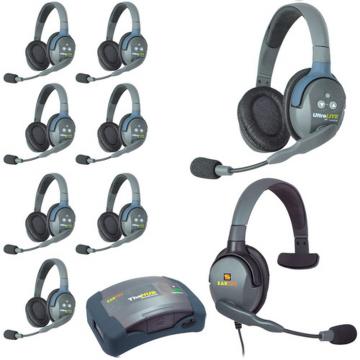 Eartec HUB9DMXS Mini Duplex Base 9-Person Wireless Intercom System