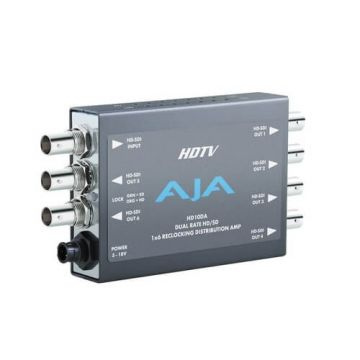AJA HD10DA 1x6 HD/SD Distribution Amplifier-Main