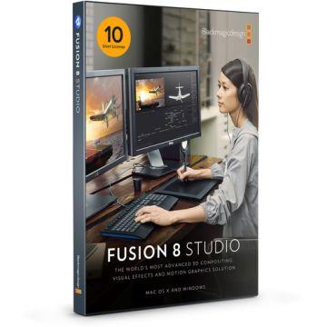 Blackmagic Design Fusion Studio 8 (10 users License Pack)