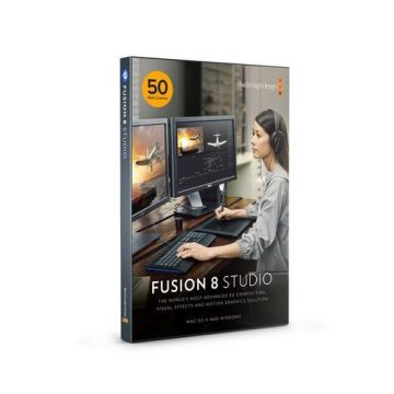 Blackmagic Design Fusion 8 Studio (50 User License Pack)