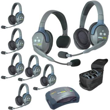 Eartec HUB817 Mini Duplex Base 8-Person Wireless Intercom System