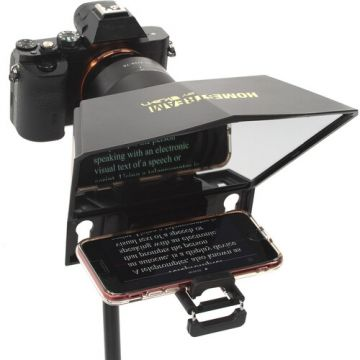 iKan Homestream Smartphone Teleprompter with Bluetooth Remote