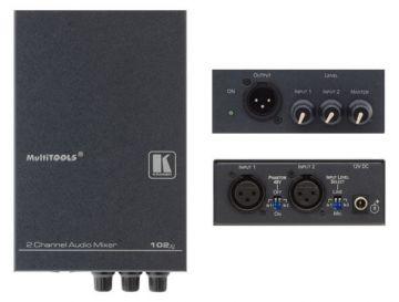 Kramer 2–Channel Balanced Mono Audio Mixer