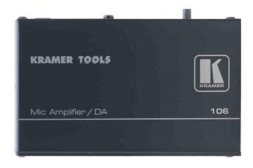 Kramer Mic Amplifier