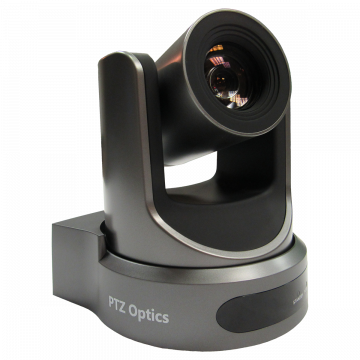 PTZOptics 20x-SDI Live Streaming Camera (Gray)
